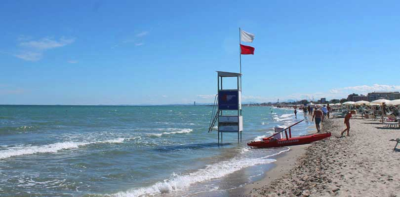 Spiagge di Milano Marittima, libere, attrezzate, stabilimenti vip